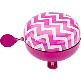 URBAN PROOF Ding Dong Bell 8cm Chevron Pink